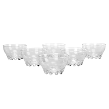 Paris Footed 270ML Set of 6 Snack Bowl, Glass