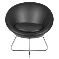 Daikin Occassional Chair - @home by Nilkamal, Black