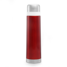 Bergner Stainless Steel 750 ml Vacuum Flask - Maroon