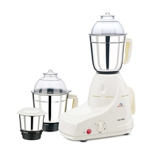 Bajaj GX8 750 W Mixer Grinder with 3 Jars, White