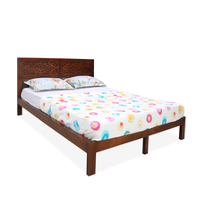 Trellis Queen Bed, Cherry
