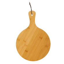 35 cm x 24 cm Bamboo Round Chopping Board - @home by Nilkamal