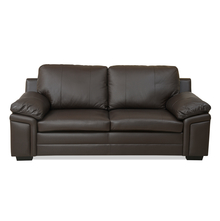 Kristen 3 Seater Sofa - @home by Nilkamal, Choco Brown