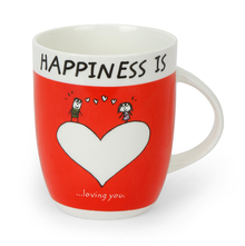 Hap Loving U 420 ml Coffee Mug - @home by Nilkamal, Red