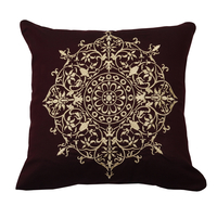 Tangerine Zaccessories Cushion Cover,  black