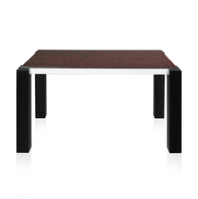 Fortis 6 Seater Dining Table - @home by Nilkamal, Black