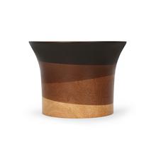 Wooden 20X20X15CM Bowl, Cocoa