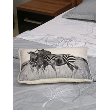 Zebra 30 x 45 cm Filled Cushion, Multicolor