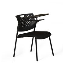 Vision Training Chair With Half Pad - @home by Nilkamal,  black