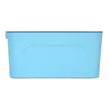 Solid Storage with Lid 32X20X14CM, Blue