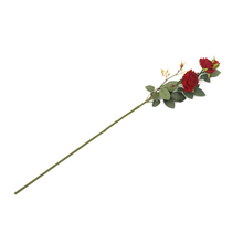 Rose Bush Flower Stick - @home by Nilkamal, Red