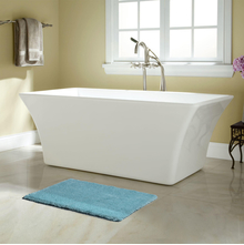 50'x80' Exotica Bathmat @home By Nilkamal, Light Blue