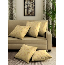 SWRIL CUSHION COVER SET OF 5, SAGE