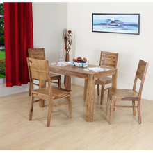 Miracle 4 Seater Dining Kit, Walnut
