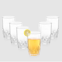 6 Piece Polo Water Tumbler - @home Nilkamal