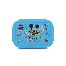 Micky Small Square Lunch Box, Blue & Yellow