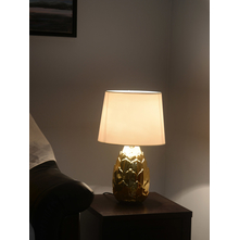 Lotus Gleam 30X30X48CM Large Table Lamp, Gold