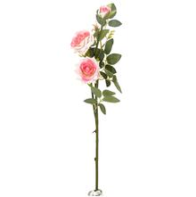 Rose Bush Flower Stick - @home by Nilkamal, Pink
