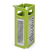 Foldable 4 Sides Grater, Green