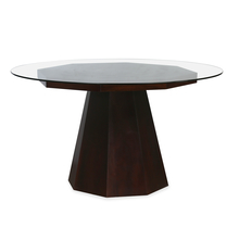 Malibu 6 Seater Dining Table, Walnut