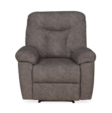 Winters 1 Seater Sofa with 1 Manual Recliner, Rose Grey