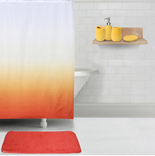 Promo Gradation Bath Set, Red & Yellow