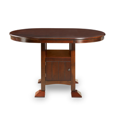 Grant 6 Seater Counter Height Dining Table - @home by Nilkamal, Dark Expreso