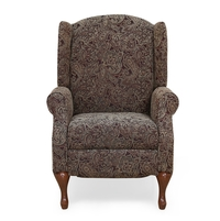 Erin 1 Seater Sofa with 1 Manual Recliner, Paisley