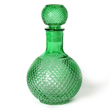 1000 ml Glass Decanter with Stopper - @home by Nilkamal, Sea Green