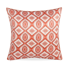 E Diamn 60 x 60 cm Cushion Cover Set of 2 - @home by Nilkamal, Maroon