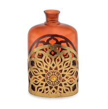 Urbania Large Vase - @home by Nilkamal, Yellow