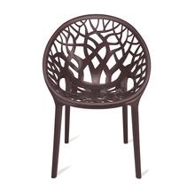 Nilkamal Crystal Chair PP,  weather brown