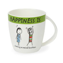 Hap Brother 320ML Coffee Mug, Green