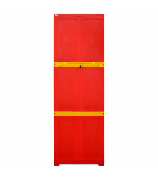 Nilkamal Freedom Mini Large Cabinet - Bright Red