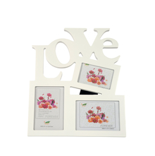 Love MDF Photo Frame - @home by Nilkamal, White