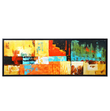 Vogue Summer Picture Painting 50 x 150 - @home By Nilkamal, Indigo & Olive
