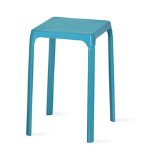 Nilkamal Rockway Stackable Stool, Blue