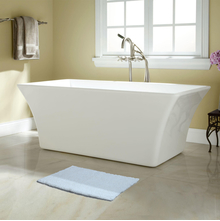 40'x60' Exotica Bathmat @home By Nilkamal, White