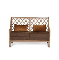 Miraya 2 Seater Sofa - @home by Nilkamal,  brown