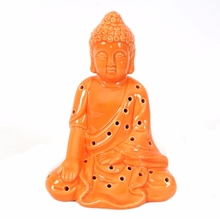 Buddha LED Show Piece - @Home by Nilkamal, Orange