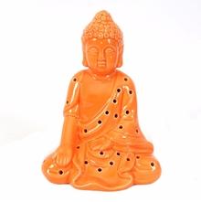 Buddha LED Show Piece - @Home by Nilkamal, Orange