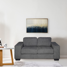 Asher 2 Seater Sofa, Dark Grey