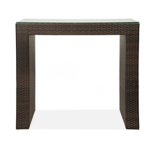 Daniel Bar Table - @home by Nilkamal, Mocha Brown