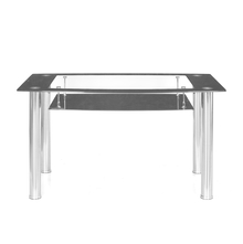 Jasmine 4 Seater Dining Table - @home By Nilkamal,  black