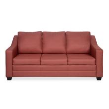 Rome 3 Seater Sofa - @home by Nilkamal, Maroon