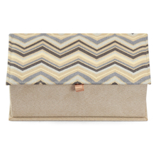 Chevron Jewellery Box - @home Nilkamal,  beige