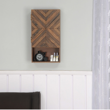 Anson Vertical Wall Cabinet, Walnut