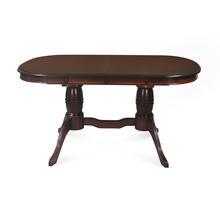 Richard 6 Seater Extendable Dining Table, Dark Walnut
