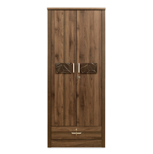 Leaf 2 Door Wardrobe, Wenge