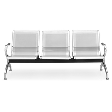 Nilkamal Elano New 3 Seater Bench, Silver
